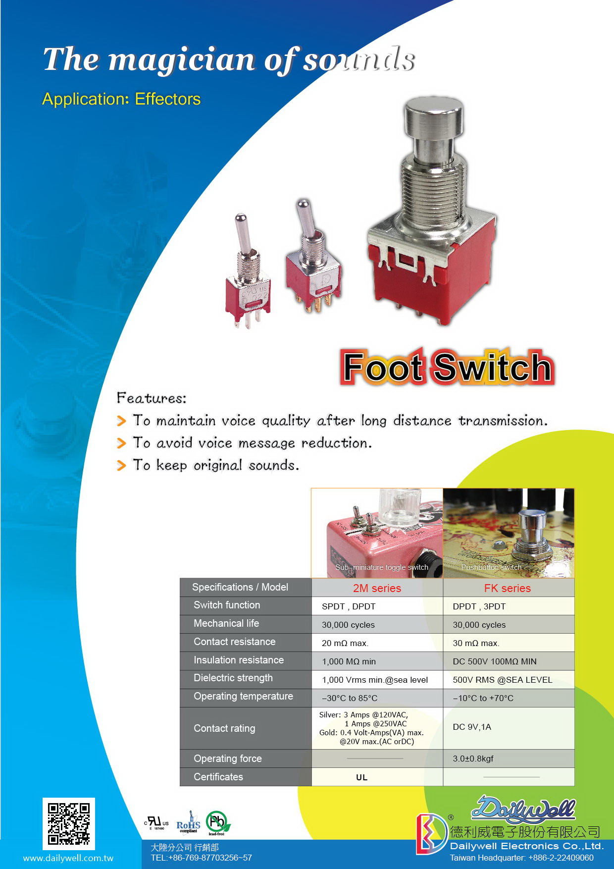 Foot-Switch 2M/FK